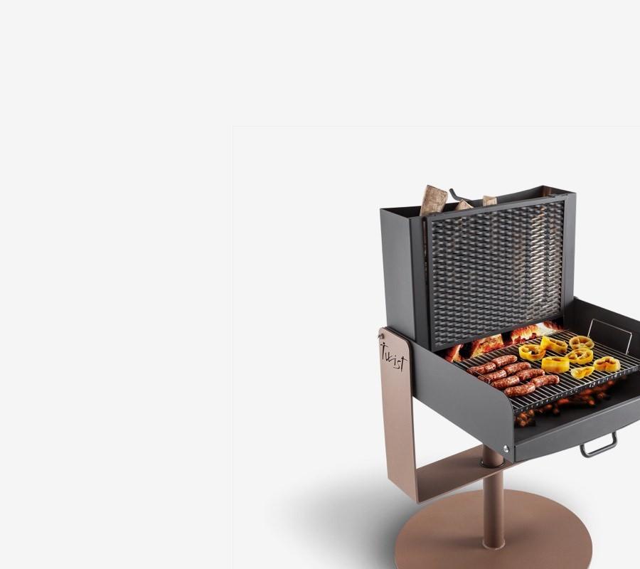 Barbecues en métal